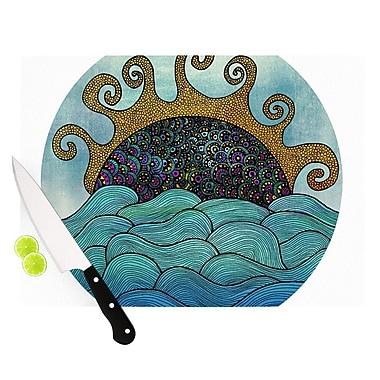 KESS InHouse Oceania Cutting Board; 8.25'' H x 11.5'' W x 0.25'' D