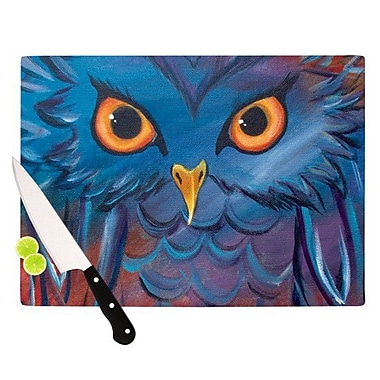 KESS InHouse Hoot Cutting Board; 11.5'' H x 15.75'' W x 0.15'' D