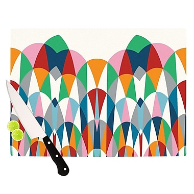 KESS InHouse Modern Day Arches Cutting Board; 8.25'' H x 11.5'' W x 0.25'' D