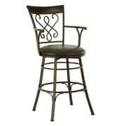 Steve Silver Furniture Carmona 30'' Swivel Bar Stool
