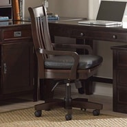 Steve Silver Furniture Teton High-Back Swivel Arm Chair with Casters