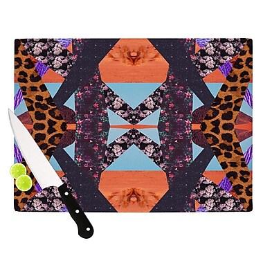 KESS InHouse Pillow Kaleidoscopic Cutting Board; 8.25'' H x 11.5'' W x 0.25'' D
