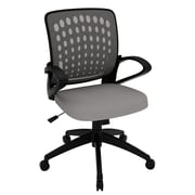 Z-Line Designs Mid-Back Task Chair with Arms; Grey