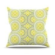 KESS InHouse Blossoming Buds Throw Pillow; 26'' H x 26'' W