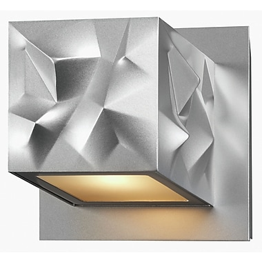 Philips Alps 1 Light LED Wall Sconce; Painted Silver