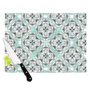 KESS InHouse Winter Pool Cutting Board; 8.25'' H x 11.5'' W x 0.25'' D