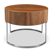 Bellini Modern Living Mint End Table; Walnut