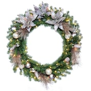 National Tree Co. Decorative Pre-Lit 30'' Wreath with 50 Clear Lights
