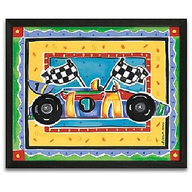 Timeless Frames Race Car Framed Graphic Art