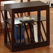 Steve Silver Furniture Jameson End Table; Cherry