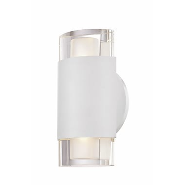 Philips Marchesa 2-Light LED Wall Sconce; White