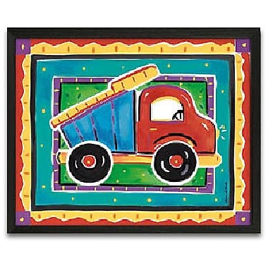 Timeless Frames Dump Truck Framed Graphic Art