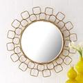 Twos Company Metropolitan Wire Link Mirror