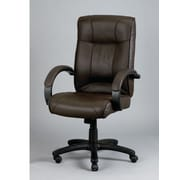 Eurotech Seating Odyssey Leather Executive Chair; Brown