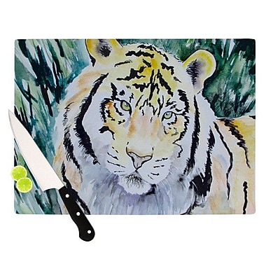 KESS InHouse Tiger Cutting Board; 11.5'' H x 15.75'' W x 0.15'' D