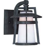 Maxim Lighting Calistoga EE 1-Light Outdoor Wall Lantern; 10'' H x 7'' W x 8.75''D