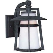 Maxim Lighting Calistoga EE 1-Light Outdoor Wall Lantern; 12.5'' H x 9'' W x 11'' D