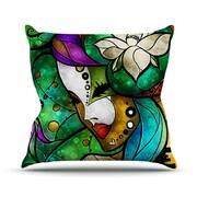 KESS InHouse Nola Throw Pillow; 20'' H x 20'' W