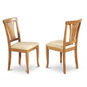 East West Avon Side Chair (Set of 2)