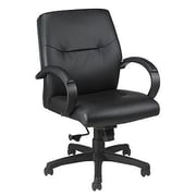 Eurotech Seating Maxx Mid-Back Leather Chair