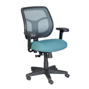 Eurotech Seating Apollo Mid-Back Mesh Swivel Chair with Arms; Green
