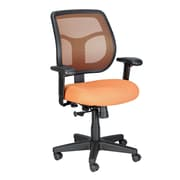 Eurotech Seating Apollo Mid-Back Mesh Swivel Office Chair; Orange