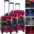 CalPak Gotham 3 Piece Luggage Set; Night Blue