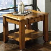 Steve Silver Furniture Nelson End Table; Oak