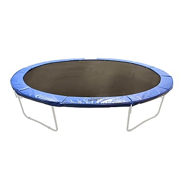 Upper Bounce 17' x 15' Super Trampoline Safety Frame Pad 10'' Wide