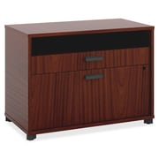 Basyx 2-Drawer Center File; Chestnut