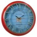 Cape Craftsmen 25.8'' Large Distressed Metal Clock