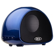 Arrowmounts QFX Bluetooth Wireless Portable Speaker with Built-In Microphone; Blue