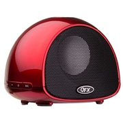 Arrowmounts QFX Bluetooth Wireless Portable Speaker with Built-In Microphone; Red