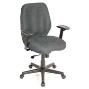 Eurotech Seating Aviator Chair with Arms; Charcoal