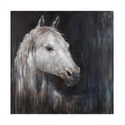 Bassett Mirror Mystical Horse Painting Print on Wrapped Canvas