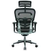 Eurotech Seating Ergohuman High-Back Mesh Managers Chair with Arms; Orange