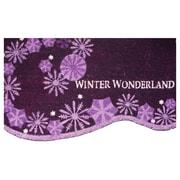 Robert Allen Home and Garden Snowflake Swirl Doormat