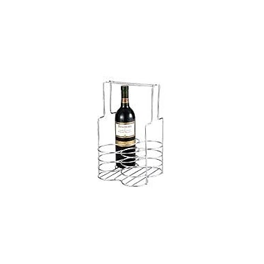 Chenco Inc. 4 Bottle Tabletop Wine Rack