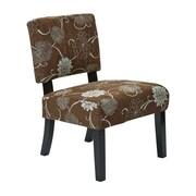 Ave Six Jasmine Side Chair; Chocolate