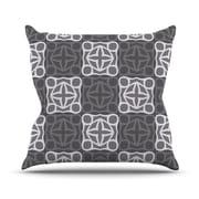 KESS InHouse Granny Goes Modern Throw Pillow; 18'' H x 18'' W