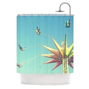 KESS InHouse Flying Chairs Shower Curtain