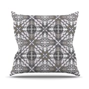 KESS InHouse Let In Snow Throw Pillow; 26'' H x 26'' W