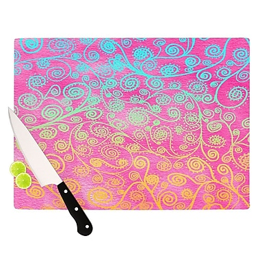 KESS InHouse Get Lucky Cutting Board; 11.5'' H x 15.75'' W x 0.15'' D