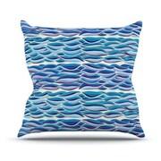 KESS InHouse The High Sea Polyester Throw Pillow; 20'' H x 20'' W