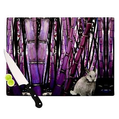 KESS InHouse Bamboo Bunny Cutting Board; 8.25'' H x 11.5'' W x 0.25'' D