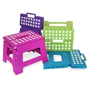 Home Basics Small Folding Stool; Purple