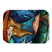 KESS InHouse Fathoms Below Mermaid Placemat