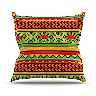 KESS InHouse Egyptian Throw Pillow; 18'' H x 18'' W