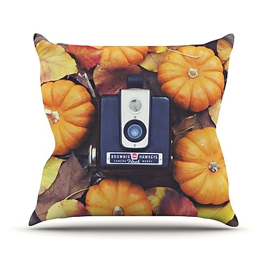 KESS InHouse The Four Seasons Fall Throw Pillow; 16'' H x 16'' W
