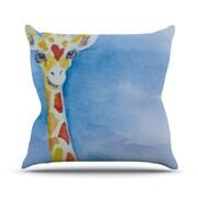 KESS InHouse Topsy Polyester Throw Pillow; 26'' H x 26'' W